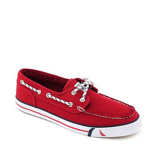 Nautica Del Mar Low mens boat shoe
