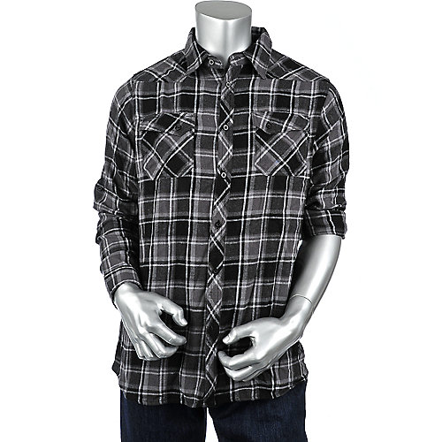 Shiekh Long Sleeve Flannel Shirt mens shirt