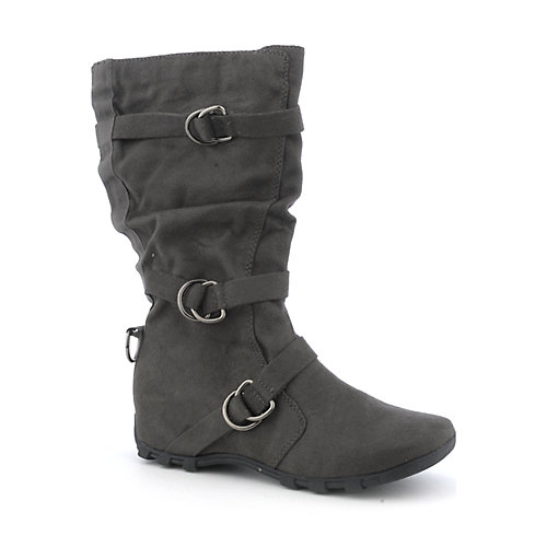 Soda Isac-S womens mid-calf flat boot