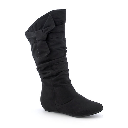 Wild Diva Candies-06 womens mid-calf wedge boot
