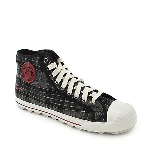 PF Flyers Grounder Hi mens athletic lifestyle sneaker