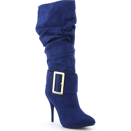 Michael Antonio Baker womens knee-high high heel platform boot