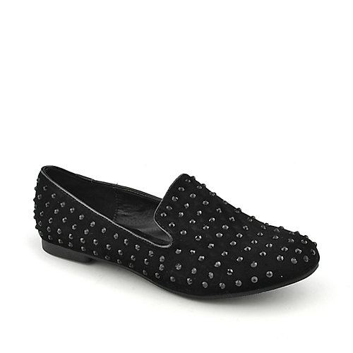 Shiekh Shiekh Spiked Flat womens casual slip-on flat