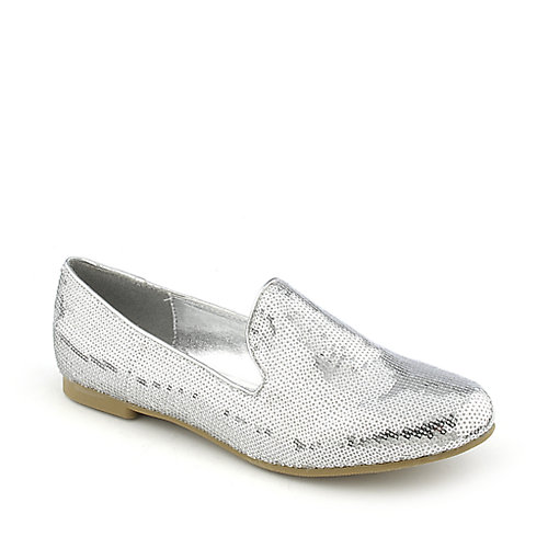 Shiekh Shiekh Flat Sequin womens casual flat slip-on