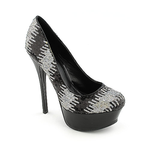 Shiekh 025 womens dress evening high heel platform