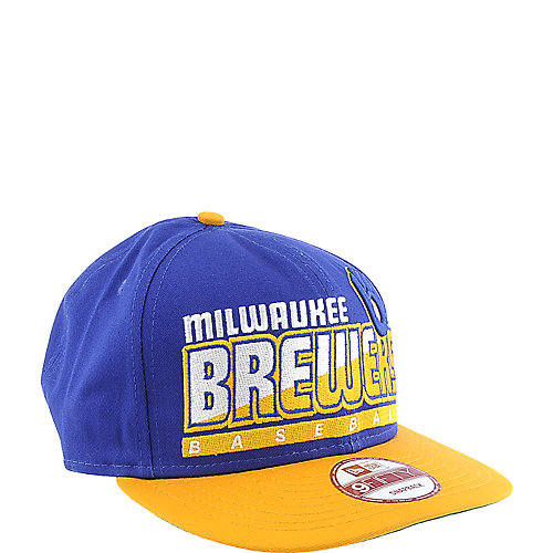 New Era Milwaukee Brewers Cap Slice & Dice snapback