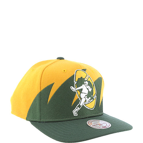 Mitchell & Ness Green Bay Packers Cap snap back NFL hat