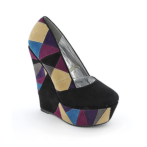 Shiekh Florence-005 womens casual platform wedge
