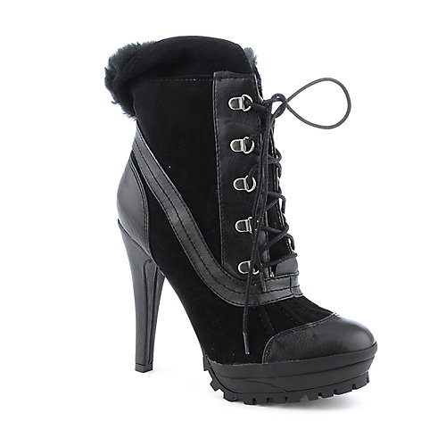 Anne Michelle Wildcat-03 womens ankle high heel platform boot