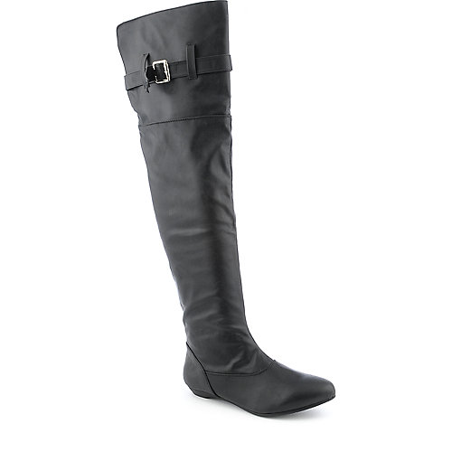 Bamboo Zoria-29 womens flat thigh-high boot