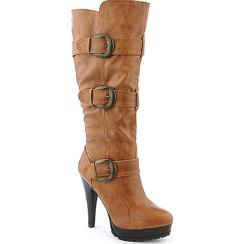 Anne Michelle Revenge-17N womens high heel platform mid-calf boot
