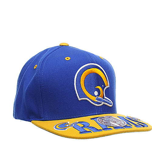 Mitchell & Ness Los Angeles Rams Cap NFL snap back hat