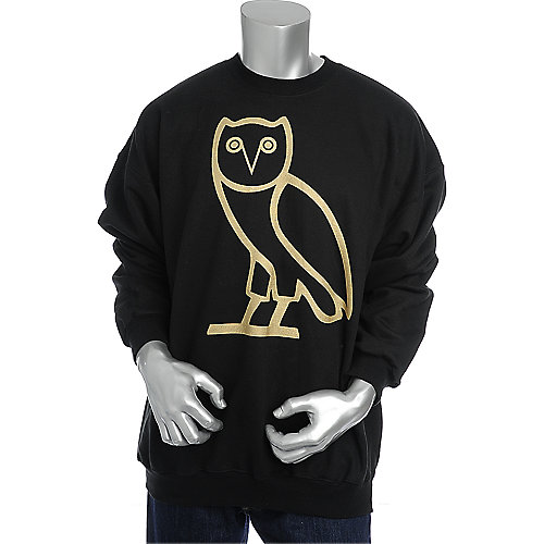 Flaucy Owl Crewneck Sweatshirt mens sweater