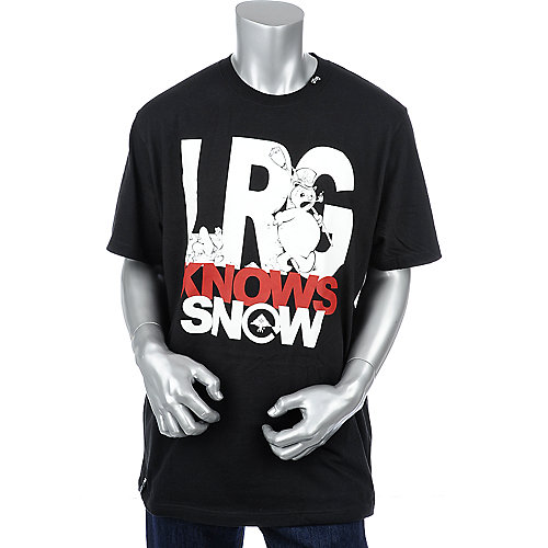 LRG Knows Snow Tee men t-shirt