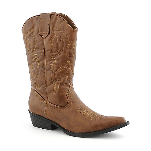 Madden Girl Sanguine womens mid-calf low heel western/riding boot
