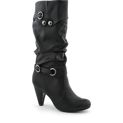 Paprika Doveva-S womens high heel mid-calf boot