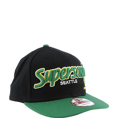 New Era Seattle Supersonics Cap NBA snap back hat