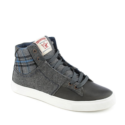 True Religion True Religion 208100 mens casual lace-up sneaker