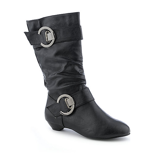 DbDk Rista-1 womens low heel mid-calf boot