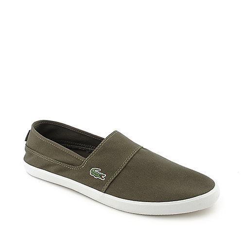 Lacoste 17K Clemente SP mens khaki slip on casual shoe