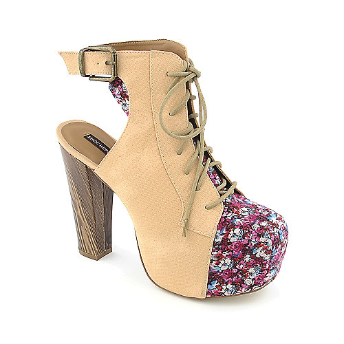 Shoe Republic LA Bloom womens casual platform heel