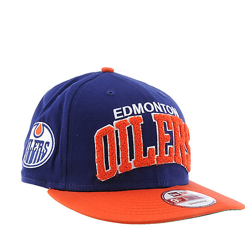 New Era Edmonton Oilers Cap NHL snap back hat