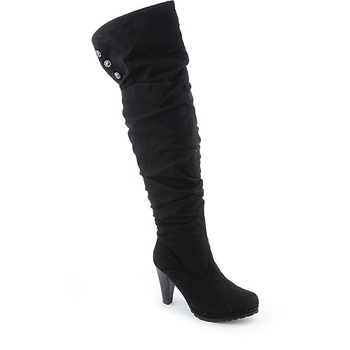 DeBlossom Vevay-1 womens high heel platform boot