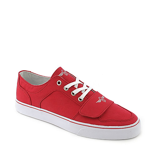 Creative Recreation mens Classic Cesario Lo XVI red casual sneaker