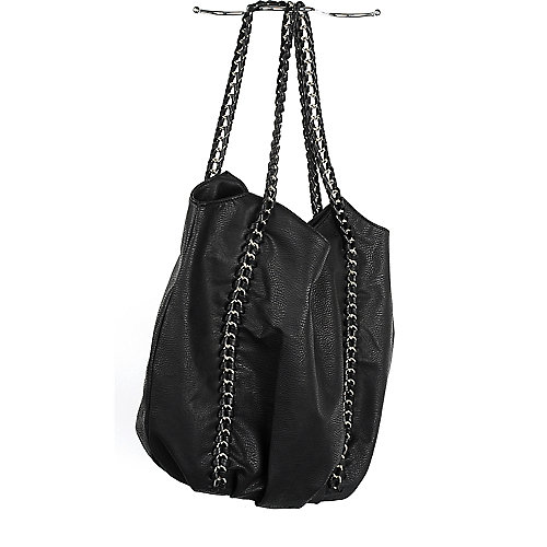 Nila Anthony Chain Hobo Bag black hand bag