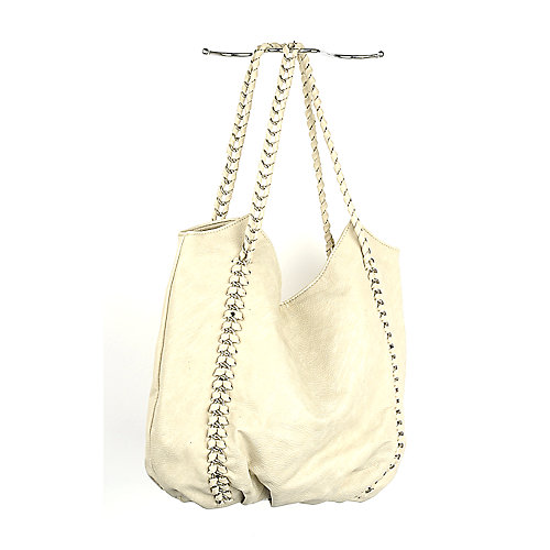 Nila Anthony Chain Hobo Bag beige hand bag