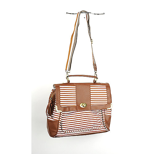 Nila Anthony Striped Handbag large bag