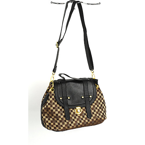 Nila Anthony Checker Bag shoulder bag