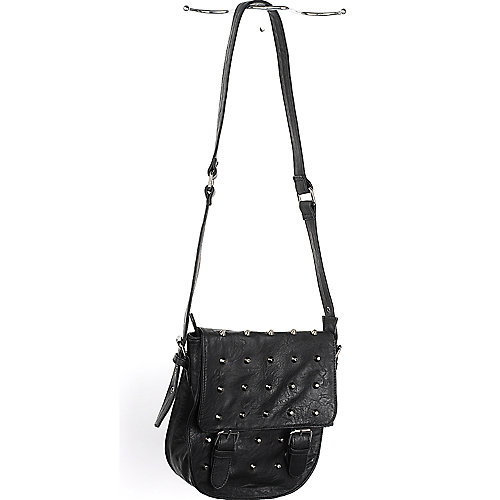 Nila Anthony Studded Shoulder Bag leatherette bag