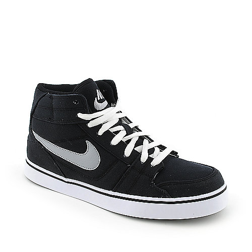 Nike Ruckus Mid Canvas mens athletic basketball sneaker