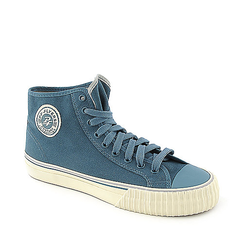 PF Flyers Center Hi Reissue mens teal athletic lifestyle sneaker