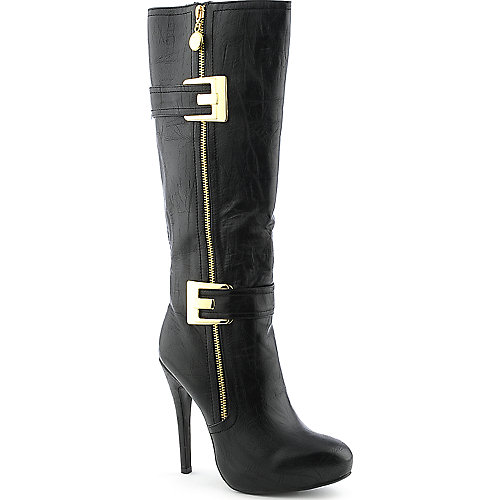 Cleopatra Katie womens knee-high high heel platform boot