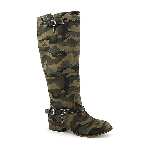 Breckelle's Outlaw-81 womens knee-high low heel riding boot
