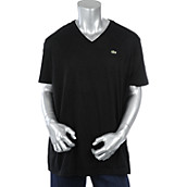 Mens Short Sleeve Pima Jersey V-Neck T-Shirt