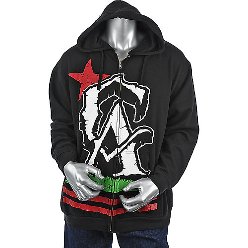 Fatal Cali Zip Up Hoodie mens sweater