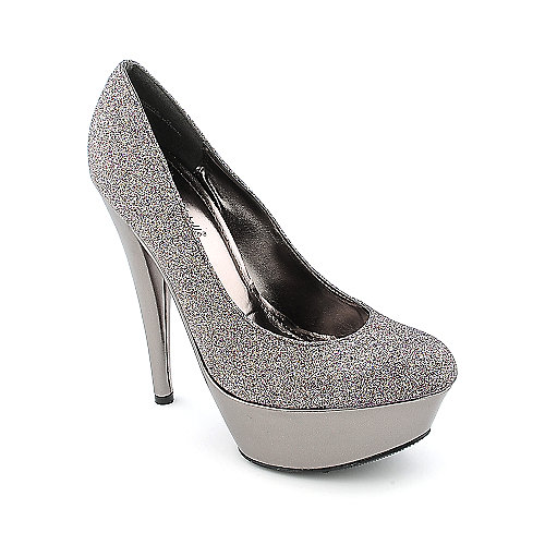 Anne Michelle Topgun-01X womens dress glitter high heel platform
