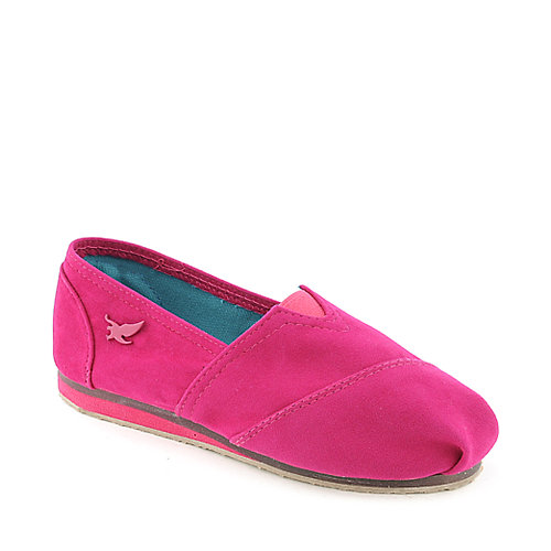 Shiekh Kids Fala-S fuchsia casual slip on shoe