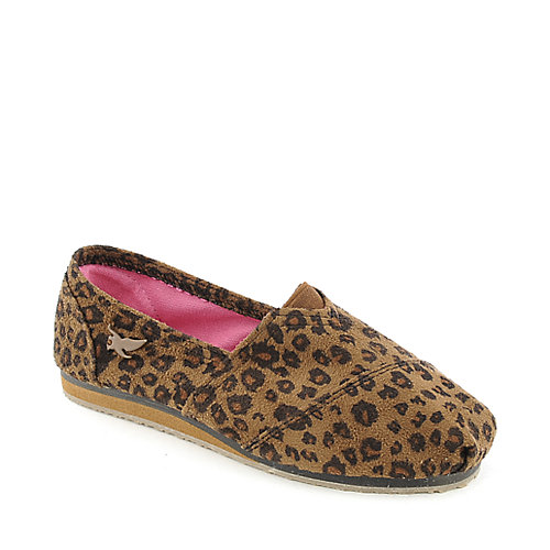 Shiekh Kids Fala-S leopard casual slip on shoe