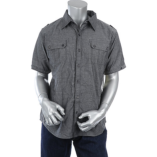 Rag Dynasty Armageddon mens grey shirt