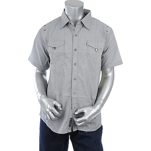 Rag Dynasty Super Sport Shirt mens grey shirt