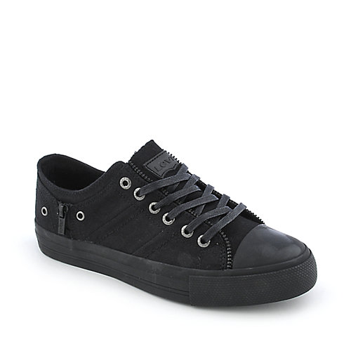 Levis Zip Ex Lo Canvas youth black sneaker