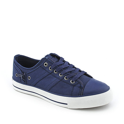 Levis Zip Ex Lo Canvas youth navy sneaker