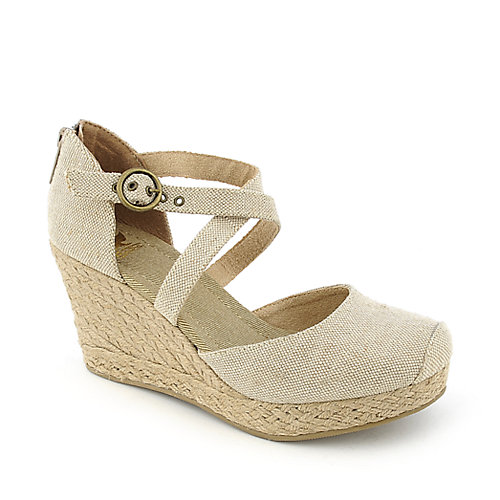 Shiekh C-XL0253 womens casual espadrille platform wedge