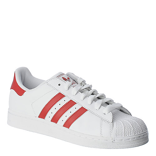 Adidas Superstar 2 white athletic basketball sneaker
