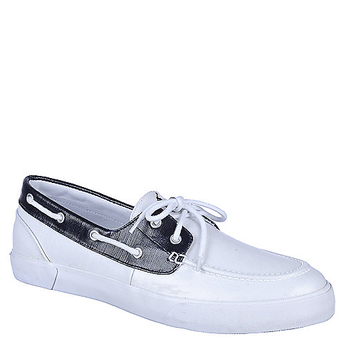 Polo Ralph Lauren Lander Madras mens casual boat shoe
