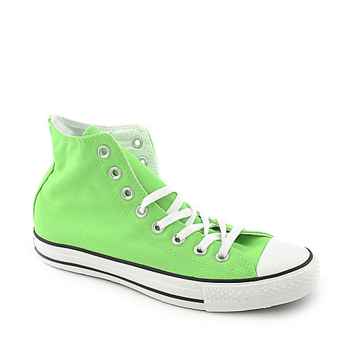 Converse Chuck Taylor All Star Hi mens neon green lifestyle sneaker